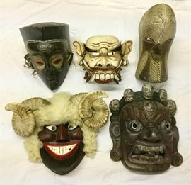 Collection of International Masks