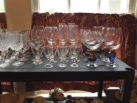 Glasses galore. :