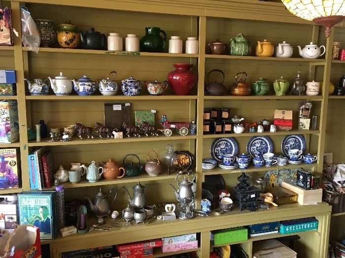 Refreshed with more great items from antiques to zen tea!