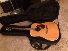 Vintage Del Mar Acoustic Guitar by Fender with case