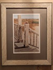"Signed Bob Timberlake artist proof, ""Front Porch"" 1/30"