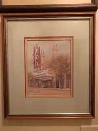 """Fox Theater, Gone With The Wind"" by Anni Moller, 561/1000"