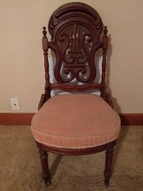 Another well carved chair