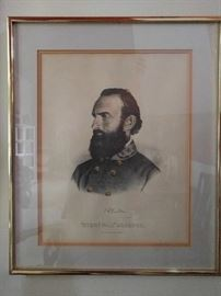 Here's ol' Stonewall Jackson, for all you DAR's out there.