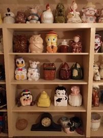 Yep - a collection of almost 60 vintage cookie jars! Cookies not included.