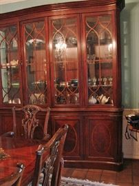 Contents of china cabinet only will be for sale.