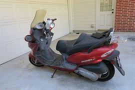 Grandvista 250 motor scooter