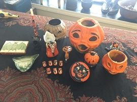 Tons of antique & vintage Halloween memorabilia