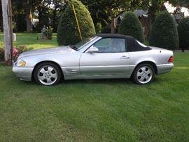 1999 SL 500