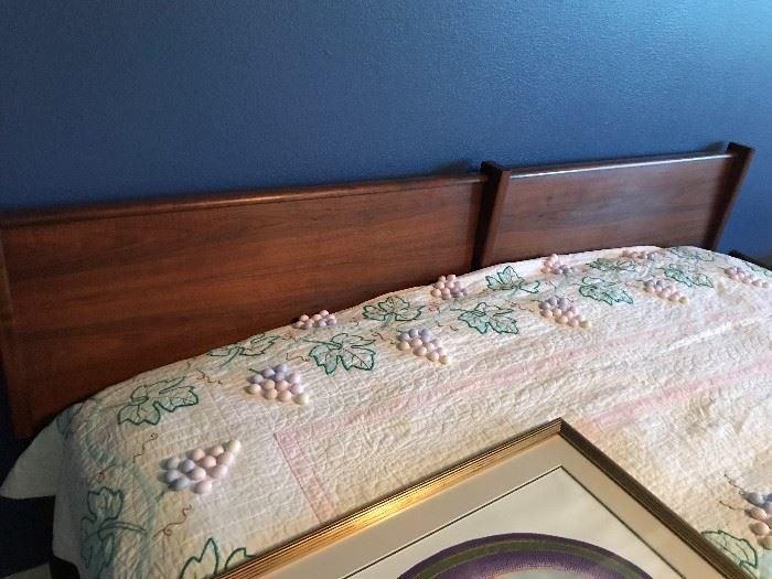 Danish Modern King Bed
