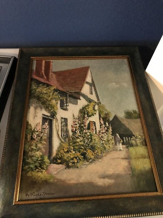 Important Original Oil Painting by William Staples Drown