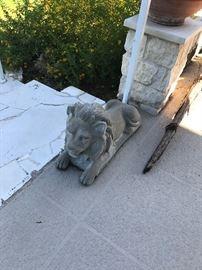 Cement Lions