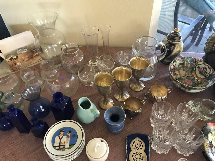 Sterling Goblets and More