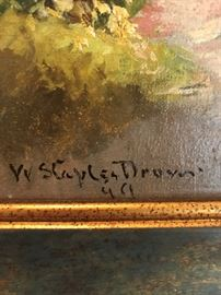 Drown Painting Signature