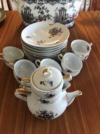 Beautiful Antique Tea Set