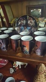 How did Elvis take his coffee? There are lots of Elvis memorabilia.
