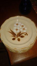 Hand Painted vintage stoneware