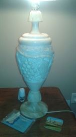 ITALIAN ALABASTER MARBLE LAMPS