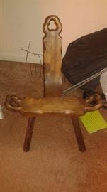 little German chair
