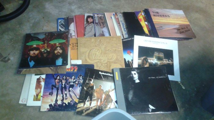 yes, we have albums, records or vinyl