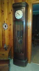 Late 1800's Kienzle Grandfather Clock, purchased in Germany.