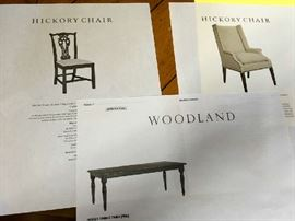 Names like Hickory & Woodland...  makes of some of the finest custom and designer furnishings today...