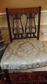 Set of 4 19th C. Period Chairs $3,500