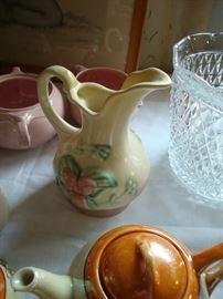 Hull Pottery pitcher