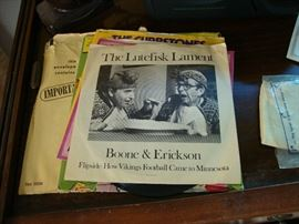 The Lutefisk Lament record (Boone & Erickson)