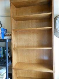 Oak bookcase...no particle board
