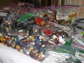 Lego assortments - Pirates, castles,  boats, cars, windows, bionicles, trees, bases: You name it , we have it!