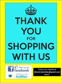 thank you for shopping