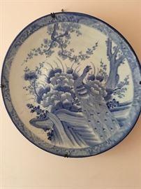 Huge Chinese Display Plate