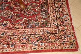 """One of the many vintage Persian 100% wool hand made area rugs available         6' x  8'5"""""""