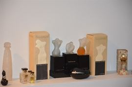 Huge perfume bottle collection, mini's, commercial bottles, solid perfume containers & more