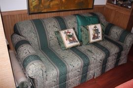 Sofa with Decorative Pillows