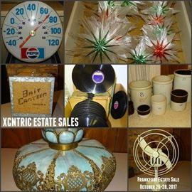 Vintage Treasures October 26-28 Frankfort Estate Sale!