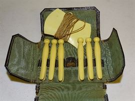 Celluloid clothes pins