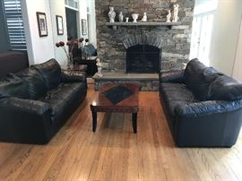 Natuzzi leathe sofa 350$ or 2-600$ Excellent condition  Call: 301-571-9181 This item can be picked up from today