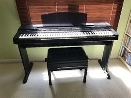 Yamaha keyboard piano ypp200 Plus chair