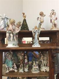 Meissen and Royal Vienna Figurines.