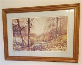 Framed Artwork b