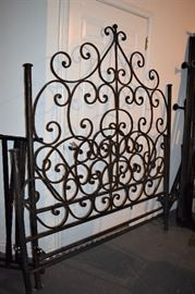 Wrought Iron Bed; handmade in Mexico