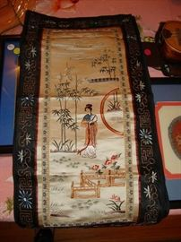 Antique, Chinese embroidery