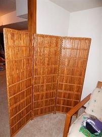 Bamboo divider