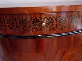 Empire Craftsman - Stunning Half Circle Sideboard Buffet Cabinet