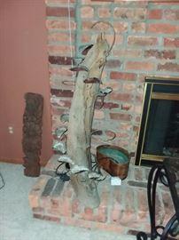 Driftwood Fountain