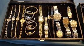 Costume Jewelry & Wrist Watches