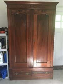 Antique Victorian Era Armoire - For sale now at $550 or BO