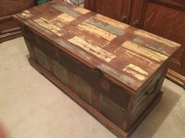 Distressed Hope Chest
